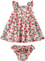 Cath Kidston Daisy Sprigs Baby Dress With Insert And Brief