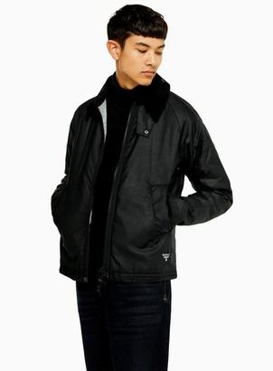 Barbour TopmanTopman BEACON Black Winter Munro Wax Jacket