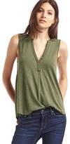 Gap Drapey split-neck tank