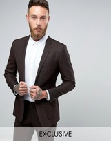 Number Eight Savile Row Skinny Suit Jacket
