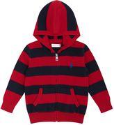 Polo Ralph Lauren Stripe Zip Hoodie