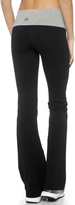 So Low SOLOW Contrast Fold Over Pants