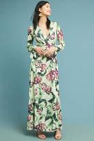 PatBO Floral Wrap Maxi Dress
