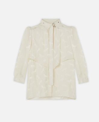 Stella McCartney horse jacquard shirt
