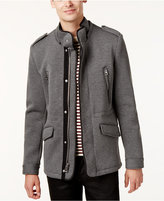 GUESS Men's Knit Military Jacket