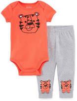 Okie Dokie Tiger 2-pc. Bodysuit Set-Baby Boys NB-24M