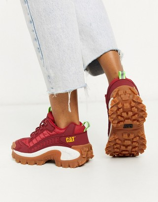 CAT Footwear CAT Intruder chunky trainers in red