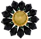 Marni Floral Crystal & Resin Brooch