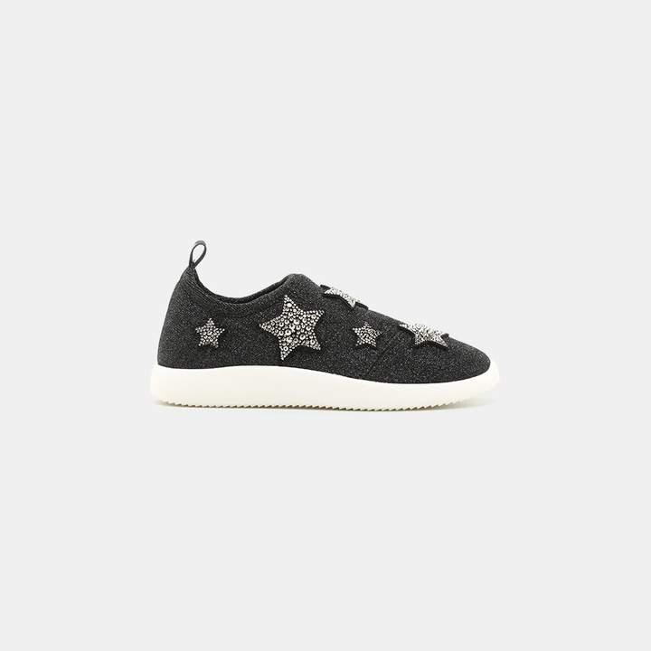 Giuseppe Zanotti Knit Star Sneaker
