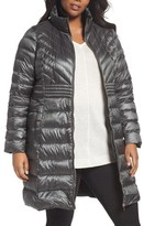 Bernardo Plus Size Women's Down & Primaloft Coat
