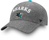 Women's Fanatics Branded Black San Jose Sharks Chambray Fundamental Adjustable Hat