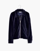 Madewell Texture & Thread Velour Corduroy Bomber Jacket