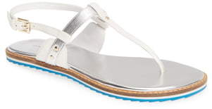 Linea Paolo Leia Slingback T-Strap Sandal