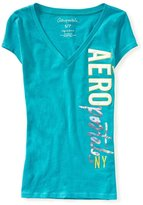 Aeropostale Womens Ny Graphic T-Shirt M