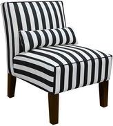 Asstd National Brand Olivia Armless Chair - Canopy Print