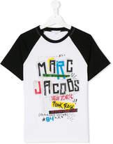 Little Marc Jacobs TEEN punk logo print T-shirt