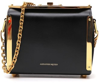 Alexander McQueen Chain Strap Box Bag