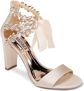 Badgley Mischka Ever After Embellished Sandal