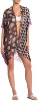Pool' Pool To Party Floral Dot Kimono Cover-Up