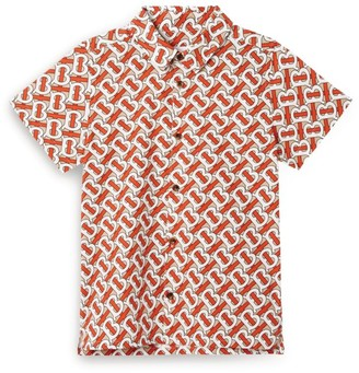 Burberry Kids Monogram Shirt (3-12 years)