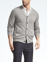 Banana Republic Silk Linen Seed Stitch Cardigan