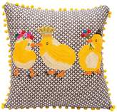 Karma Living 3 Chicks Pillow