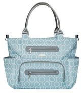 JJ Cole Caprice Diaper Bag in Aqua Radian