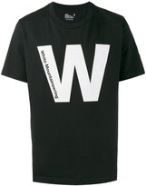 White Mountaineering printed short sleeve T-shirt - men - Cotton - 0
