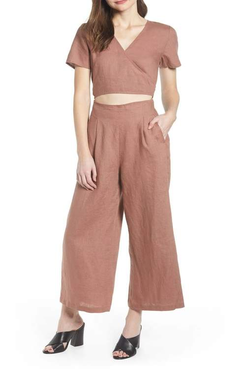 Chelsea28 Linen Jumpsuit