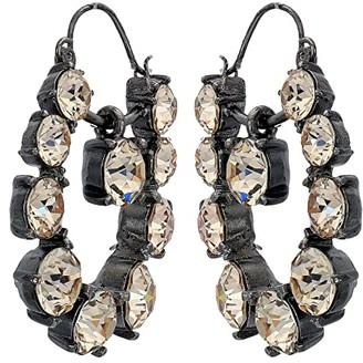 Oscar de la Renta Runway Jewel Drop P Earrings