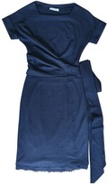 CNC Costume National Navy Wool Dress for Women