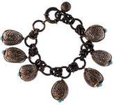 Lanvin Resin Charm Bracelet