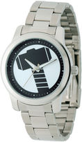 Marvel Mens Silver Tone Bracelet Watch-W001781