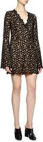 Stella McCartney Netted Lace Scalloped Dress