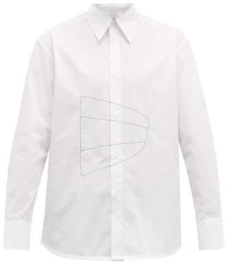Namacheko Bew Embroidered Cotton-poplin Shirt - Mens - White