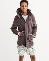 Abercrombie & Fitch Lightweight Nylon Parka