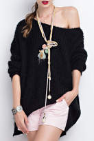 Easel Loose Fit Sweater Tunic