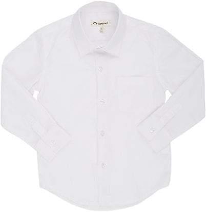 Appaman Kids' Poplin Dress Shirt - White