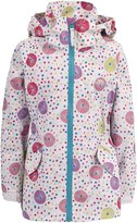 Trespass Childrens Girls Fairies Zip Up Waterproof Jacket