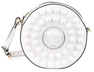 Versace La Medusa Bauble Leather Disco Bag