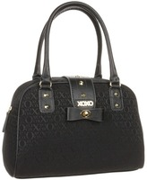 XOXO Past Curfew Satchel (Black Jacquard) - Bags and Luggage