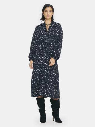 IRO Aty Draped Midi Dress