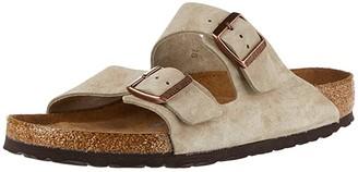 Birkenstock Arizona Soft Footbed - Suede SINGLE SHOE (Taupe Suede) Shoes