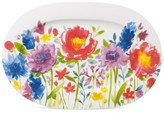 Villeroy & Boch Amnut Flowers Collection Bone China Oval Platter