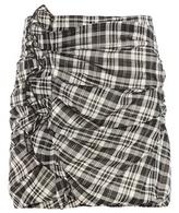 Etoile Isabel Marant Isabel Marant, Étoile Wilma Plaid Cotton Skirt