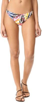 Shoshanna Women's Palm Leaves Classic Bikini Bottom