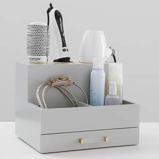 Pottery Barn Teen Elle Lacquer Hair Tools Organizer