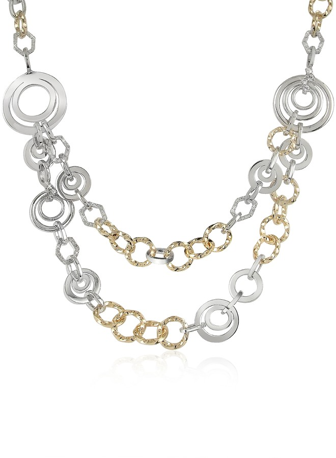 A-Z Collection Crystal Chain Opera Necklace