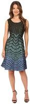 Alberta Ferretti Sleeveless Zigzag Dress Women's Dress