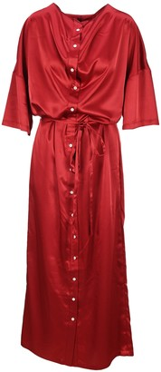 Y/Project Y / Project Belted Button-Up Oversize Dress